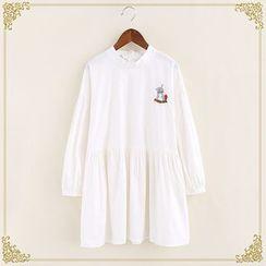 布衣天使 - 刺绣长袖裙衣