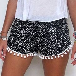 Fashion Street - Tasseled Shorts