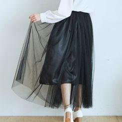 BAIMOMO - 薄紗長裙