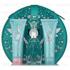 Anna Sui 安娜苏 - 许愿精灵女士香水套装: 淡香水 50ml + 身体保湿乳 90ml +  沐浴露 90ml