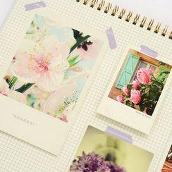 CatShow - Floral Print 2017 Desk Calendar (M)