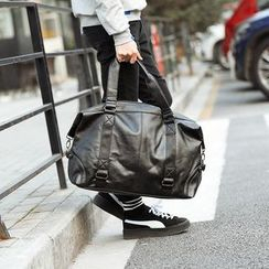 BagBuzz - Faux Leather Carry All Bag