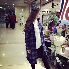 Cloud Nine - Plaid Long Shirt