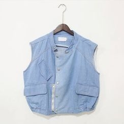Mr. Cai - Denim Vest