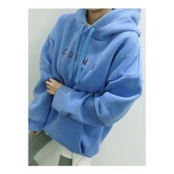ATTYSTORY - Hooded Brushed-Fleece Lined Pullover