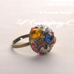 Fit-to-Kill - Colorful Diamond Ring