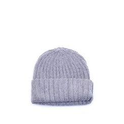 Ohkkage - Wool Blend Rib-Knit Beanie