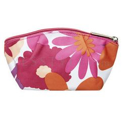 Clinique - Red Flower-Print Cosmetics Bag (Big)