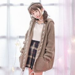 Moriville - Hooded Cardigan