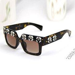 Sunny Eyewear - Floral Retro Sunglasses