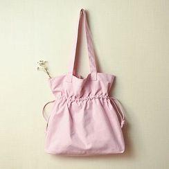 Bagalore - Plain Drawstring Tote Bag
