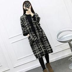 Be Bonita - 3/4-Sleeve Open-Front Coat