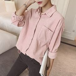 Eva Fashion - Corduroy  Shirt