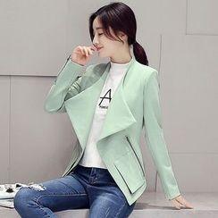 Polpetta - Zip-Accent Open-Front Jacket