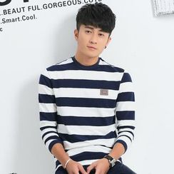 Seahound - Long-Sleeve Striped T-Shirt