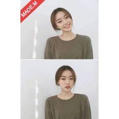 MICHYEORA - Round-Neck Drop-Shoulder T-Shirt