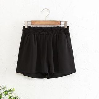JVL - Elastic-Waist Shorts