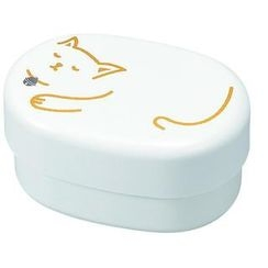 Hakoya - Hakoya Compact Lunch Box White Cat
