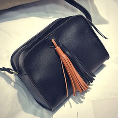 Diamante - Tasseled Crossbody Bag