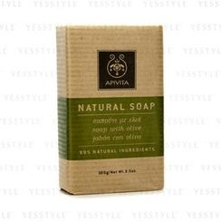 Apivita - Natural Soap with Olive (Ideal For All Skin Types)