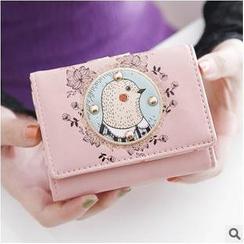 梨花娃娃 - 土撥鼠印花錢包
