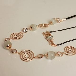 Love Generation - Double Strand 'Love' Necklace