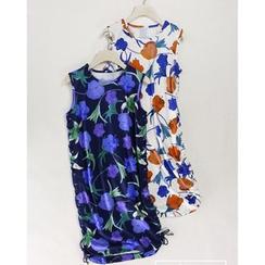 Pluvio - Floral Print Tank Dress