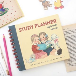 iswas - 'Paper Doll Mate' Series Study Planner - (M)