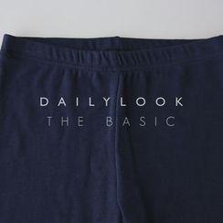 DAILY LOOK - Plain Leggings