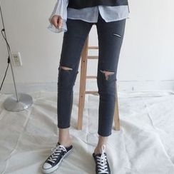 Cloud Nine - Ripped Skinny Jeans