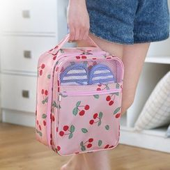 Case in Point - Printed Travel Shoe Organizer