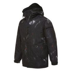 Seoul Homme - Hooded Printed Parka