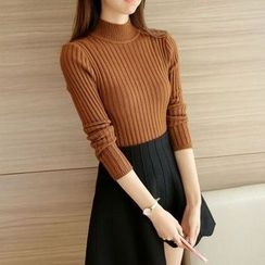 Yamster - Ribbed Knit Top