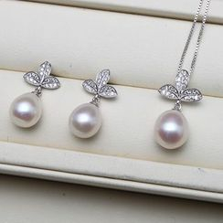 ViVi Pearl - Freshwater Pearl Pendant / Earrings