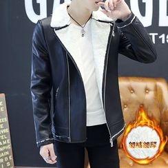 Masowild - Faux Leather Jacket