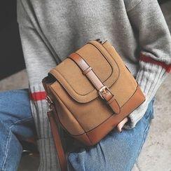 Youshine - Faux Suede Crossbody Bag
