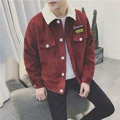 Arthur Look - Buttoned Corduroy Jacket