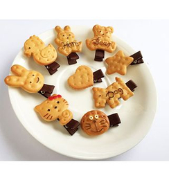 Tivi Boutique - Kids Biscuit Hair Clip