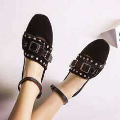 JY Shoes - Studded Flats