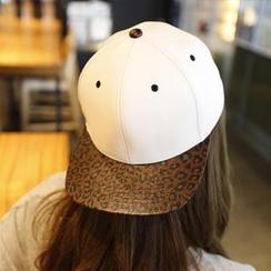 REDOPIN - 豹紋印花棒球帽