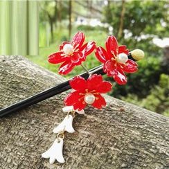 Kiyoha - Ancient Style Flower Hair Stick