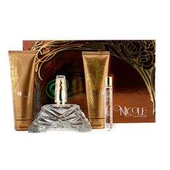 Nicole Richie - Nicole Coffret:Eau De Parfum Spray 100ml/3.4oz + Body Lotion 100ml/3.4oz + Shower Gel 100ml/3.4oz + Eau De Parfum Roller Ball 10ml/0.34oz