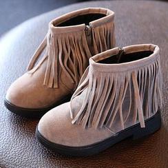 Luco - Kids Fringe Short Boots