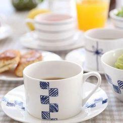 Kawa Simaya - Printed Mug &  Saucer