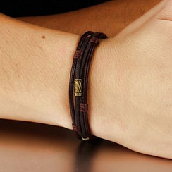 Andante - Genuine Leather Layered Bracelet