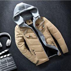 Keerme - Hooded Padded Zip Jacket