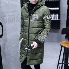 Wild Dragon - Printed Padded Coat