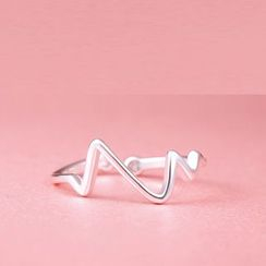 Zundiao - Wave Adjustable Ring
