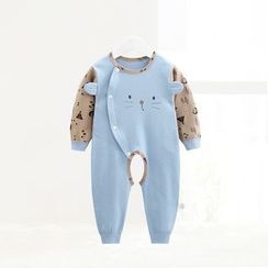 ciciibear - Kids Animal Panel Open Crotch One-piece