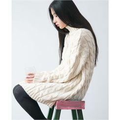 YARU - Long Sweater Dress